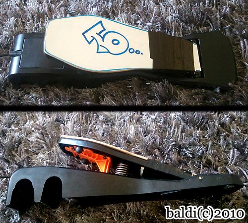 fix broken rockband pedal